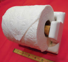 ceramic mounted toilet paper holders ebay