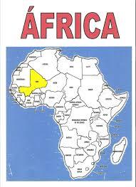 mapa de africa map mapa de africa localizado
