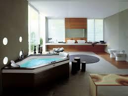Huge Bathtub Huge Luxury All Black Bathroom With Sunken Bath Tub Luxury Modern
