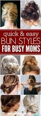 25 best easy mom hairstyles ideas on pinterest simple ponytail
