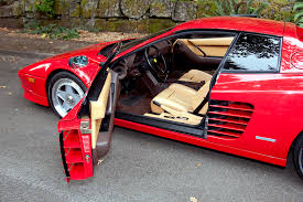 1987 Ferrari Testarossa Sports Car Shop