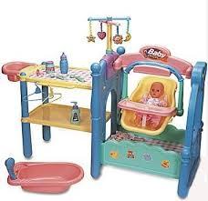 little tikes baby doll nursery center swing bath table s l 200