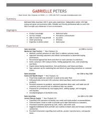 Create Video Resume Online by Best Sales Associate Resume Example Livecareer