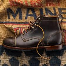 Handmade Shoes Usa - handsome perfed cap toe boot with rugged casual elegance packed