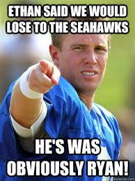 Seahawks Lose Meme - awesome seahawks lose meme ethan said we would lose to the seahawks