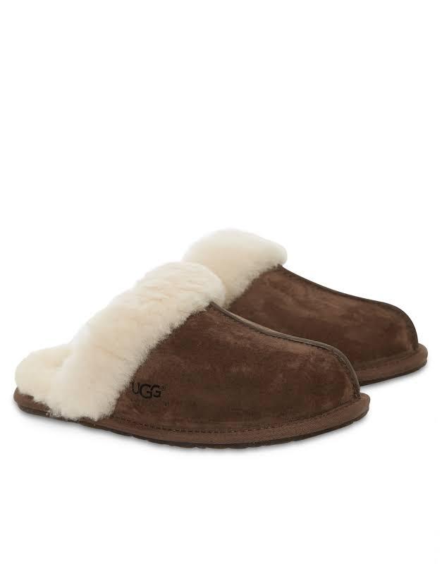 Ugg Women Scufette Ii Slipper Shoes 7 Espresso