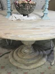 dining table cottage oak round pedestal dining table room chairs