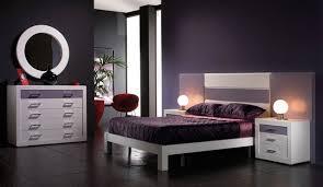 chambre a coucher violet et gris chambre a coucher moderne mauve et noir mobilier décoration