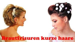 Kurze Haare Hochstecken Hochsteckfrisurenen by Brautfrisuren Kurze Haare
