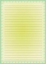 writing paper template free 8 best images of printable lined paper with stars printable free printable lined writing paper for kids