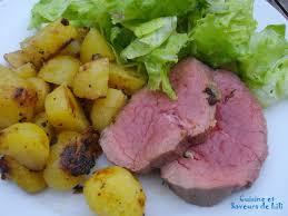 cuisine et saveurs rôti de boeuf au four et pommes sautées cuisine et saveurs de lili