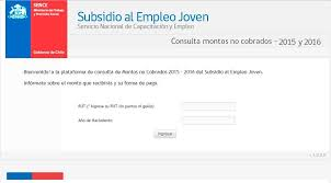 Consulta Sisoy Beneficiaria Bono Mujer Trabajadora 2016 | subsidio empleo joven y bono trabajo mujer revisa el calendario de