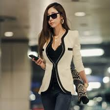 compare prices on trendy blazers for women online shopping buy
