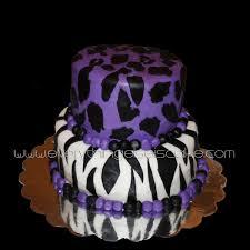 Purple Zebra Print Bedroom Ideas Purple Animal Print Cake Everything Else Is Cake