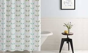 Gray And Teal Shower Curtain Shower Curtains U0026 Liners Deals U0026 Coupons Groupon