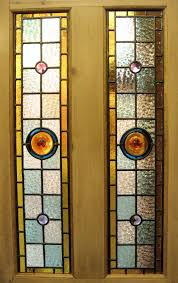 Door Pattern Comely Furniture For Interior Decoration With Stained Glass