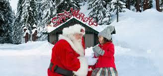lighted santa s workshop advent calendar the peak of christmas grouse mountain the peak of vancouver