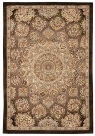 Milliken Area Rugs by Nourison 2000 2318 Brown Area Rug Free Shipping
