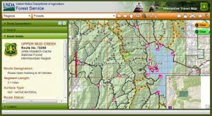map picture maps us forest service