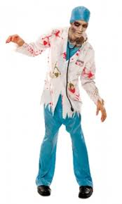 Doctor Costume Halloween Zombie Costumes Zombie Halloween Costumes Adults