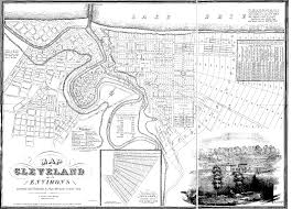 Map Of Northeast Ohio by Old Cleveland Maps