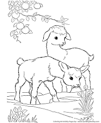 free coloring pages goats farm animal coloring page goat kid goats coloring pages