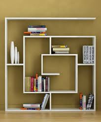 bedroom beauteous creative bookshelves modern and modular wall