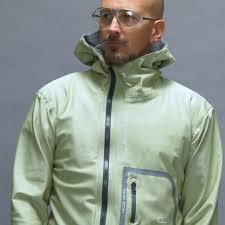 designer jacke designer herrenjacke grau grün polychromelab