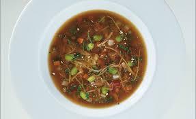 cuisiner du cabri de côte de chevreau en gelée légumes et fruits acidulés par alain