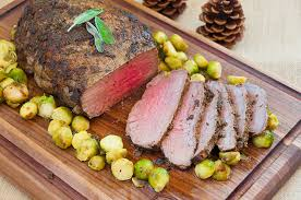 new york loin roast with garlic herb crust wishes and dishes