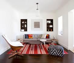 Wohnzimmerm El Couch Minimalistisches Design Der Wohnzimmer Weit Stoff Sofa Mit Kissen