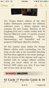 eldar q1 2015 release plastic harlequin models u0026 codex book