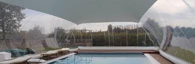 capannoni gonfiabili come funziona una copertura gonfiabile per piscina