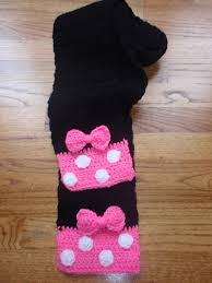 minnie mouse scarf want to see if i can find a pattern so i can