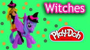mlp mini barbie doll playdoh witches my little pony princess luna