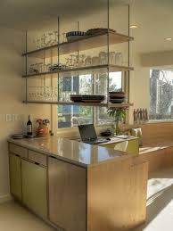 Modern Kitchen Open Concept Kitchen Design Pictures Remodel - Glass shelves for kitchen cabinets
