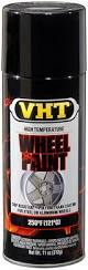 amazon com vht sp187 gloss black wheel paint can 11 oz automotive