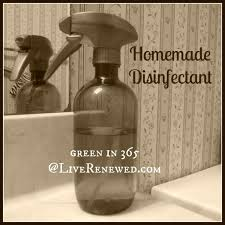 how to make your house green how to make homemade disinfectant flu season flu and sprays