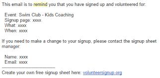 volunteersignup online volunteer signup sheets help