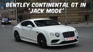 convertible bentley cost how to put a bentley continental gt in u0027jack mode u0027bentley