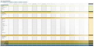 Daily Flow Template Excel Free Flow Statement Templates Smartsheet