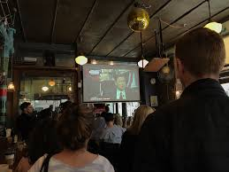 attending a comey watch party at a bar in brooklyn business insider