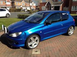 peugeot 206 rally peugeot 206 gti 180 road rally car in ilkeston derbyshire gumtree