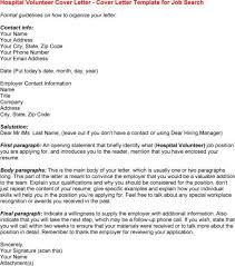 sample cover letter for volunteer position sample email message