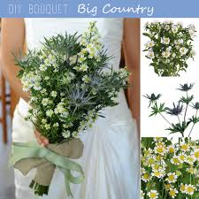 bouquet diy diy bouquet aster and thistle country bouquet fiftyflowers the blog