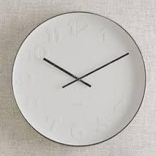 Kitchen Wall Clocks Contemporary Foter - Modern designer wall clocks