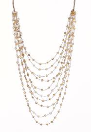 multi layered beaded necklace images Multi layer beaded necklace long cato fashions jpg