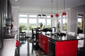kitchen ideas grey white kitchen matte black kitchen cabinets red