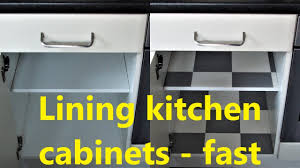 kitchen cabinet lining ideas lining kitchen cabinets fast