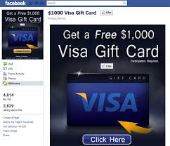 1000 gift card 1000 visa gift card welcome scam
